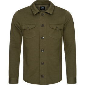 super.natural Knit Jacket Men, olive night